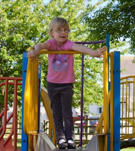 Abi at the playground 2