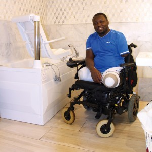 Lamin Mennah, disabled ex-Guardsman