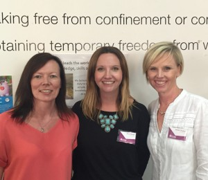 Left to Right Simone McCarthy, Anna Waugh (Managing Director) Sarah Clayton CEO