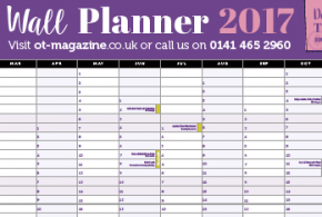 Our fabulous OT wallplanner has now launched!