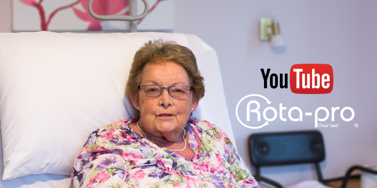 """""""I hadn't slept in years!"""" Jennifer's life changing story using the Rota-Pro® chair bed"""