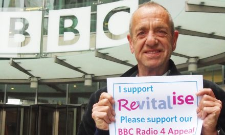 Arthur Smith presents BBC Radio 4 Appeal for Revitalise